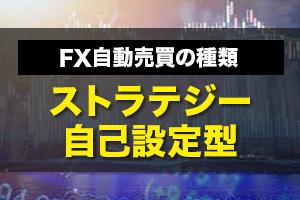 FX自動売買の種類:ストラテジー自己設定型