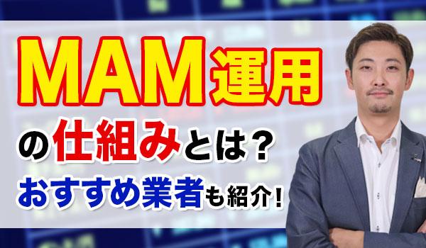 FXのMAM運用とは?EA(自動売買システム)とMAMどちらを使う方が良いのか解説