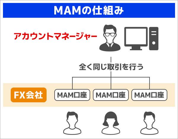 MAMを活用したFX運用の仕組み